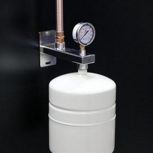 Potable water expansion tank mounting brackets